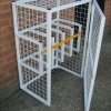 Hospital Gas Cylinder Storage Cages