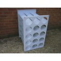 Drager Cylinder Storage Rack