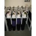 Health Centre Gas Cylinder Storage Racks